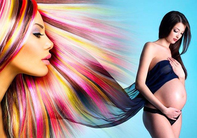 Какой краской для волос можно краситься беременным