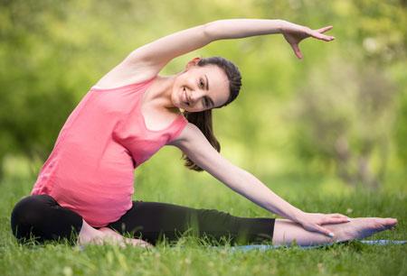 Гимнастика для беременных упражнения